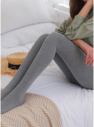 Solide Lang Elegant Sexy Leggings