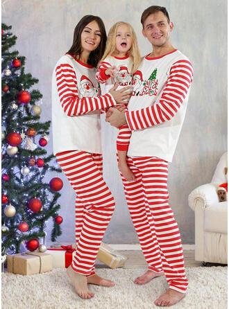 De Kerstman Letter Streep Voor Gezinnen Kerst Pyjamas