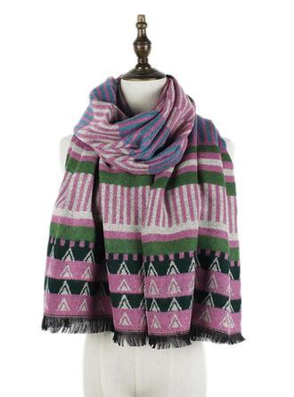 Geometric Print/Colorful fashion Scarf