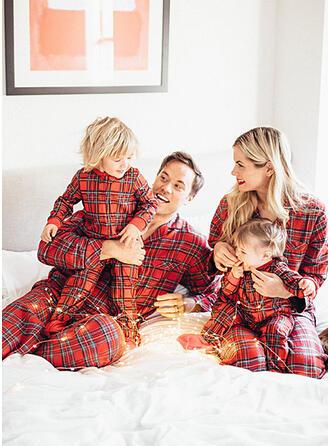 Plaid Voor Gezinnen Pyjama