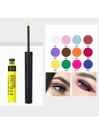 12 PCS Sequins Glitter Eye Liner Gel With Box