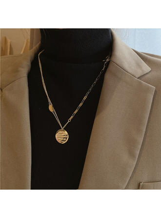 Alloy With Coin Women's Ladies' Girl's Necklaces