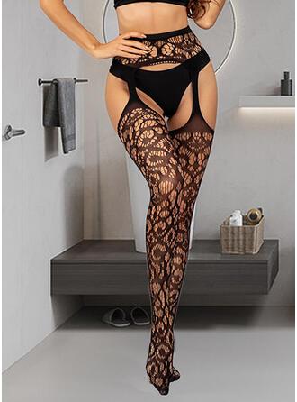 Solid Color/Geometric Print attractive/fashion/Boho/Simple Style Socks/Stockings 2 PCS