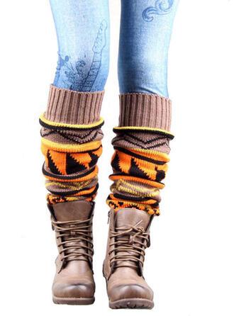 Retro /Wijnoogst/Hechten/meetkundig Comfortabel/Beenwarmers/Boot Cuff sokken/Knie hoge sokken Sokken/kousen