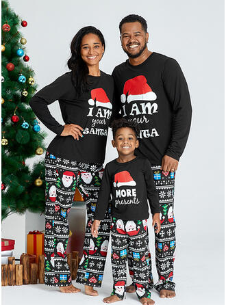 Santa Letter Family Matching Christmas Pajamas