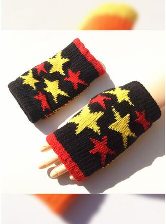 Geometrische Print/Hechten Warme/Meerkleurige/Kerstmis handschoenen