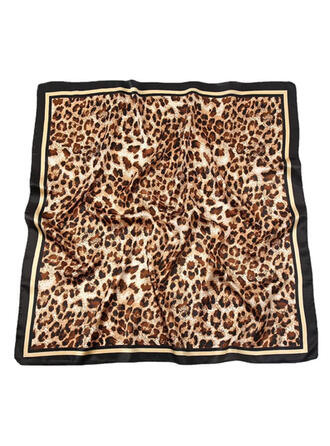 Leopard/Animal Print fashion/Animal Designed/Skin-Friendly Scarf/Square scarf