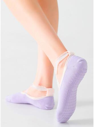 Effen kleur Ademend/Antislip/No Show sokken Sokken