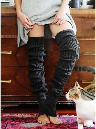 Solid Color Warm/Breathable/Comfortable/Women's/Knee-High Socks Socks/Stockings