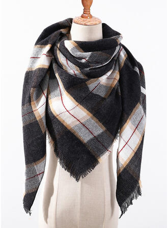Plaid/Retro/Vintage Multi-functional/Triangle Scarf