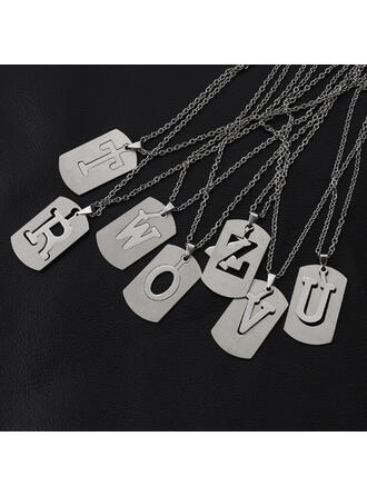 Alloy Stainless Steel Metal Women's Ladies' Girl's Necklaces