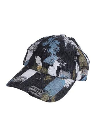 Women's Elegant/Charming/Artistic Cotton With Flax Baseball Caps